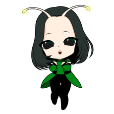 Marvel Chibi Mantis Sticker