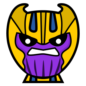 Marvel Thanos Chibi