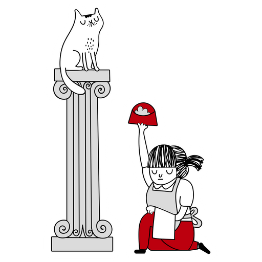 Master Сat Sticker