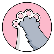 Cats High Five Sticker