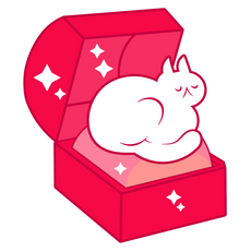 Gem Cat Sticker