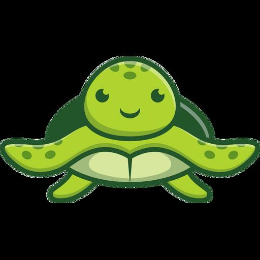 Cute Sea Turtle Sticker