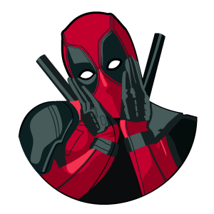Deadpool Shy