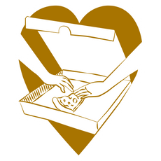 Last Pizza Slice Love Sticker