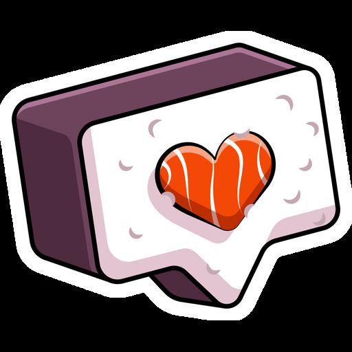 Like Sushi Sticker