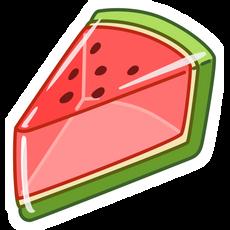 Watermelon Jelly Pie Sticker