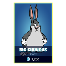 Fortnite Big Chungus Skin