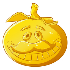 Fortnite Golden Tomatohead Sticker