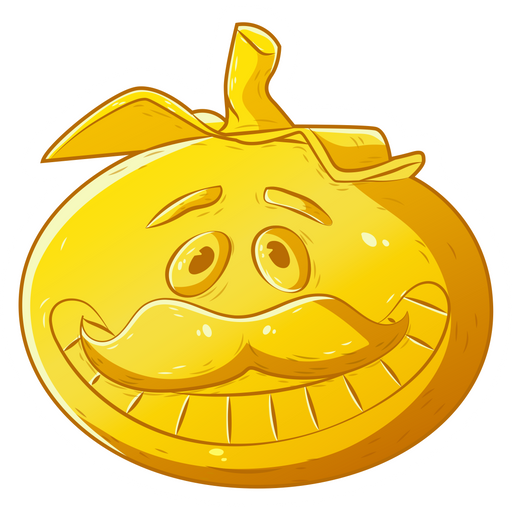 Fortnite Golden Tomatohead Sticker