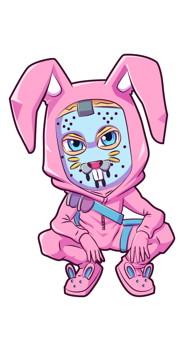 Fortnite Rabbit Raider Skin Sticker