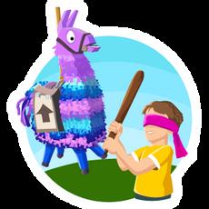 Fortnite Llama Have Fun at the Birthday Party