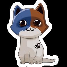 Fortnite Meowscles Skin Cat Sticker