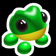 Adopt Me Frog Sticker