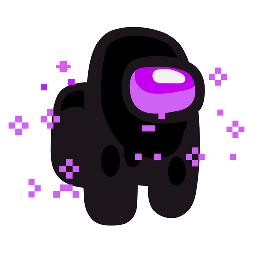 Among Us Enderman Sticker