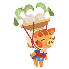 Animal Crossing Daisy Mae Sticker