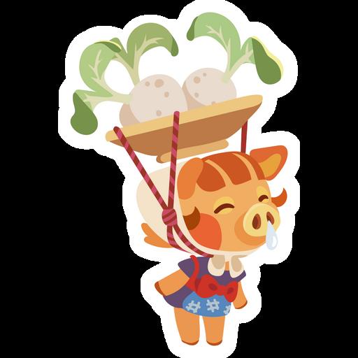 Animal Crossing Daisy Mae Sticker