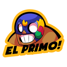 Brawl Stars El Primo Sticker