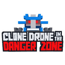 Clone Drone in the Danger Zone Sticker