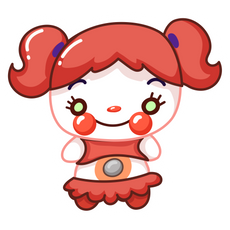 FNaF Circus Baby Sticker