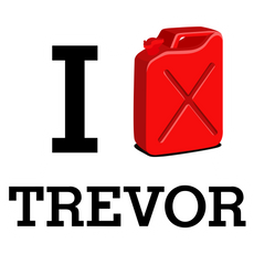 GTA 5 I Love Trevor Sticker
