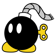 Super Mario Bob-Omb Sticker