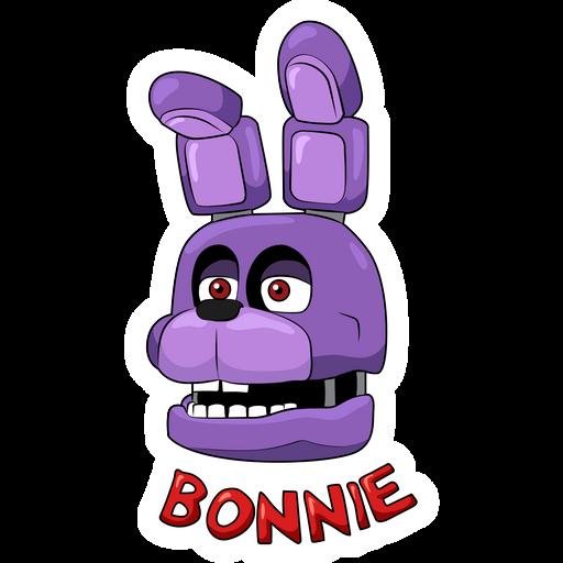FNaF Bonnie Head Sticker