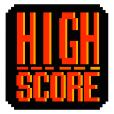 Pixel High Score Sticker