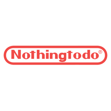 Nothingtodo Nintendo Logo Style Sticker