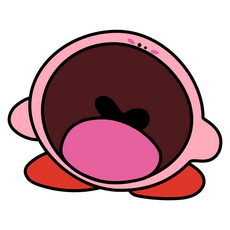 Kirby Yawn Sticker