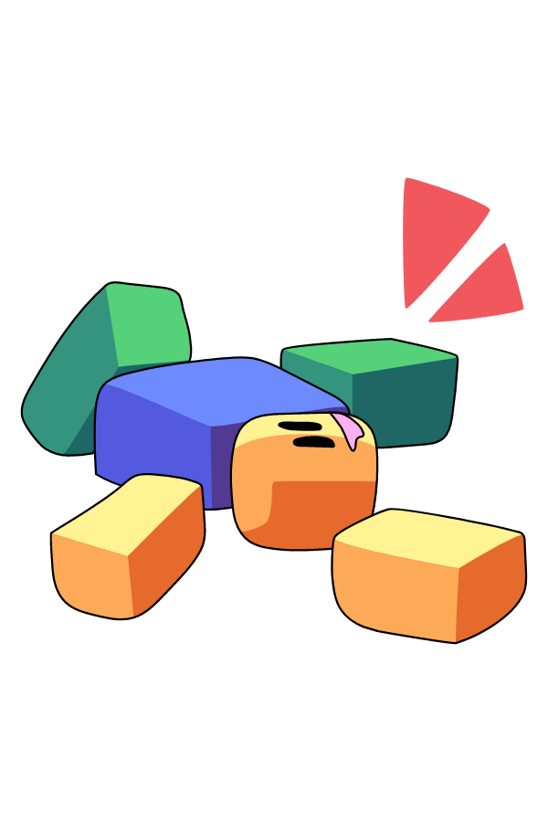 Roblox Broken Noob Sticker