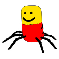 Roblox Despacito Spider Sticker