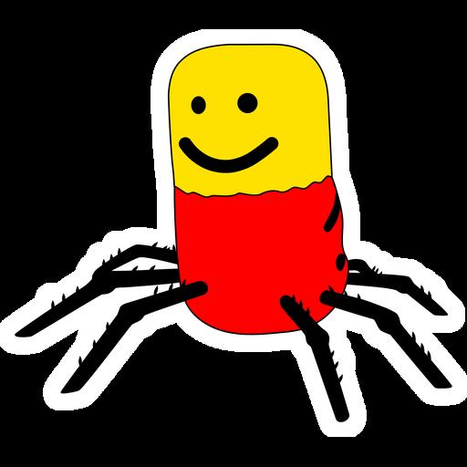 Roblox Despacito Spider Sticker