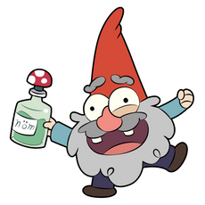 Gravity Falls Happy Shmebulock Sticker