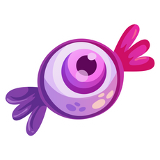 Candy Eye Sticker