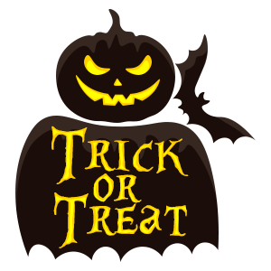Halloween Jack-O-Lantern Trick or Treat