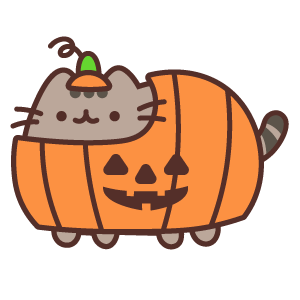 Pusheen Halloween Pumpkin