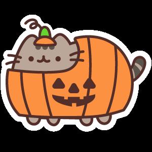 Pusheen Halloween Pumpkin