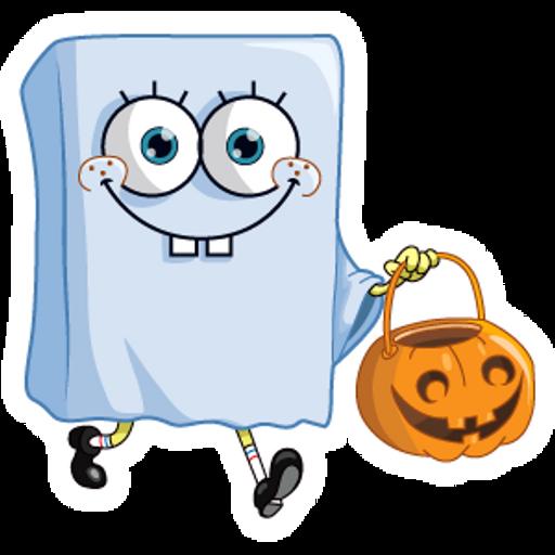 Halloween SpongeBob Ghost