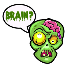 Zombie Asks About the Brain