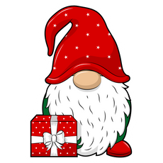 Christmas Gnome Sticker