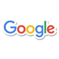 Google Logo Sticker