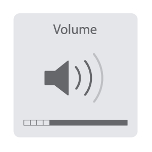 Mac OS Volume Indicator Sticker