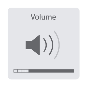 Mac OS Volume Indicator
