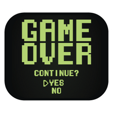 Retro Screen Game Over