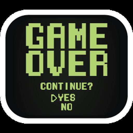 Retro Screen Game Over