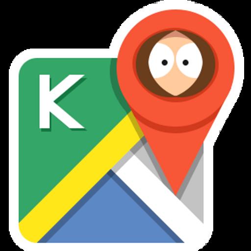 Google Kenny Maps Sticker