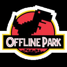 Chrome Dino T-Rex Offline Park