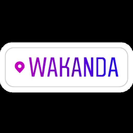 Instagram Geotag Wakanda