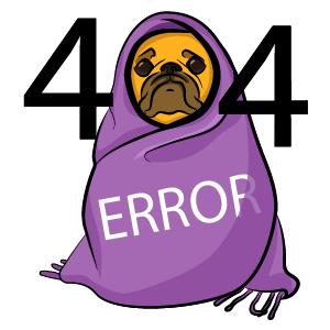 Pug 404 Error