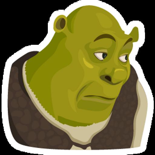 Bored Shrek Meme
